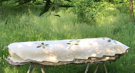 Leaf Cocoon Soft Coffin